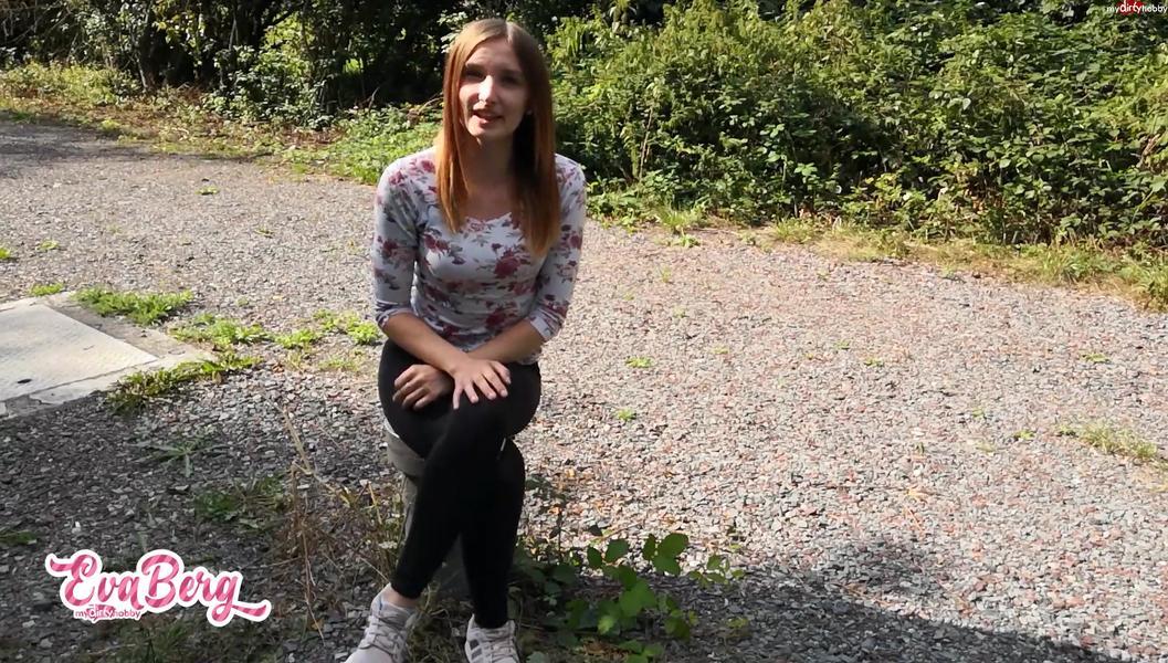 Eva-Berg - Frech Freund von bester Freundin Public aufm Freibadparkplatz