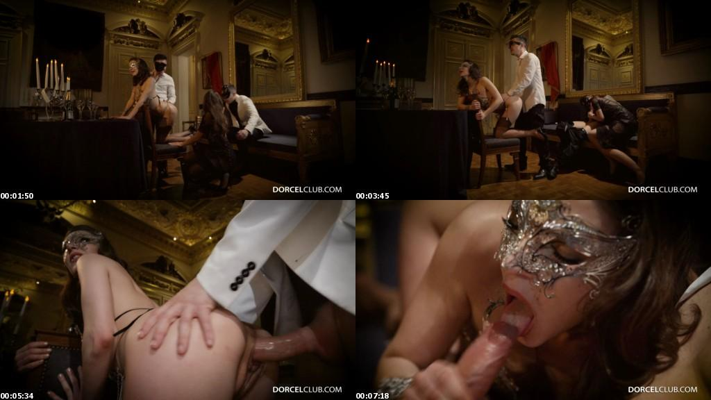 download DorcelClub - Henessy And Clea Gaultier A Swinger Night