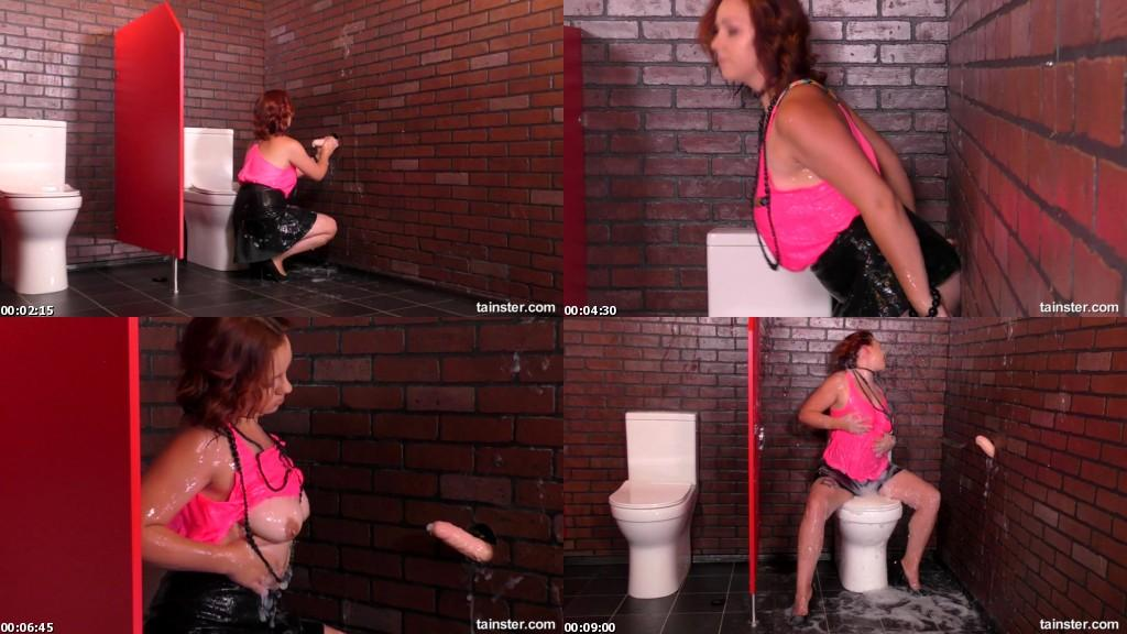 download SlimeWave - Gloryhole Leaves Red Haired Hunny Covered In Goo