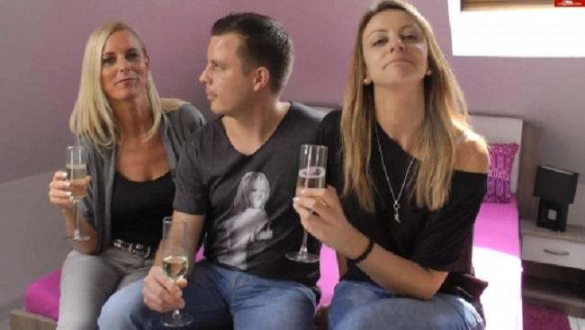 download Reife Deutsche Tina und ihre Freundin ficken mit einem jungen Typen aus der Disco
