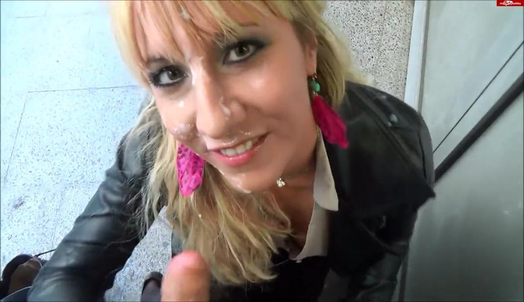 Superkrank! Sperma-Hugging im Flughafen